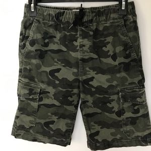 Old Navy Boys Camo Cargo Shorts sz XL 14-16